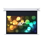 Elite Screens Evanesce B White Electric Projection Screen; 120'' diagonal