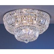 Classic Lighting Empress 9 Light Semi-Flush Mount; Crystalique-Plus