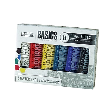 Liquitex Basics Acrylics Paint Tube Set