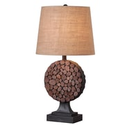 Wildon Home   Knot 28'' H Table Lamp with Empire Shade