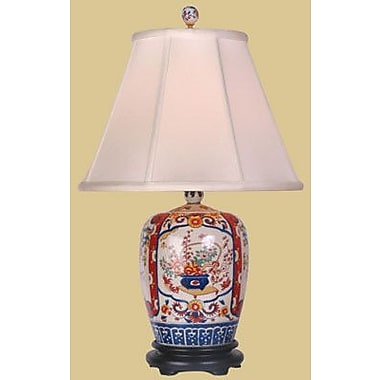Oriental Furniture Imari 25'' Table Lamp