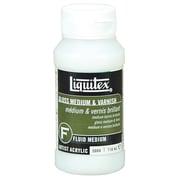 Liquitex Gloss Medium and Varnish Fluid Bottle; 118ml