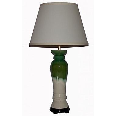 Lamp Factory Column Table Lamp; 28'' H