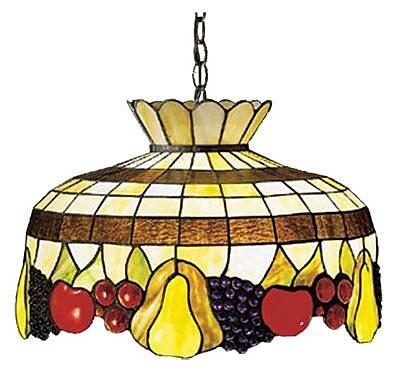 Meyda Tiffany Art Glass 1 Light Bowl