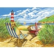 Reeves Paint By Numbers Large Seashore Painting