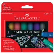 Faber- Castell Metallic Gel Sticks (Set of 6)