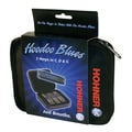 Hohner Hoodoo Blues Pro Pack Harmonica in Black - Key of C, D, G