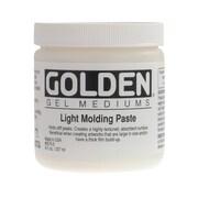 Golden Artist Colors 8 Oz Light Molding Paste
