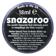 SnazarooUSA Individual Face Paint Colors; Black