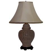 Lamp Factory Pierced Openwork 28'' Table Lamp
