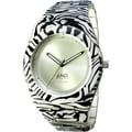 And Watch Aristotle Ladies Watch in White Circle Case