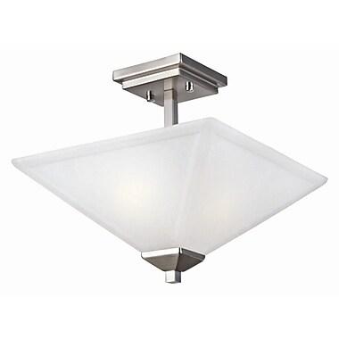 Design House Torino 2-Light Semi Flush Mount
