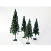 Wee Scapes Architectural Model Pine Tree (Set of 4)