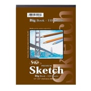Seth Cole Premium Sketch Side Spiral Big Book (110 Sheets); 11'' x 14''