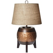 Pacific Coast Lighting PCL Maru Barrel 29.4'' H Table Lamp with Empire Shade