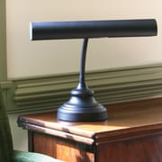 House of Troy Advent 12.5'' H Piano Table Lamp; Black