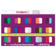 Sculpey Polymer Sampler Clay (Set of 30)
