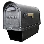 Special Lite Products Post Mounted Mailbox; Swedish Silver