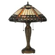 Meyda Tiffany Cleopatra 25'' H Table Lamp with Bowl Shade