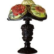 Meyda Tiffany Puffy Oxford Floral Table Lamp