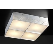 PLC Lighting Aeon 4 Light Flush Mount