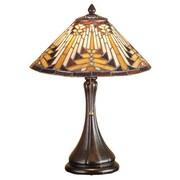 Meyda Tiffany Nuevo Mission 18'' H Circular Accent Table Lamp