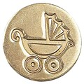 Manuscript Decorative Pram Sealing Wax Coin