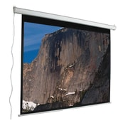Mustang Aspect Ratio Matte White 120'' Electric Projection Screen