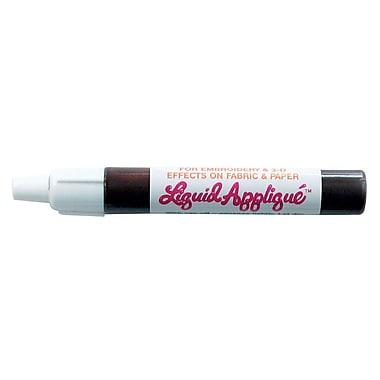 Marvy Liquid Appliqu  Marker; Brown