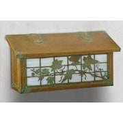 America's Finest Mailboxes English Ivy Horizontal Wall Mounted Mailbox