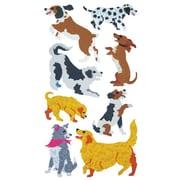 Jillson & Roberts Bulk Roll Prismatic Dog and Puppy Sticker