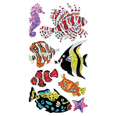 Jillson & Roberts Prismatic Bulk Roll Salt Water Fish Sticker