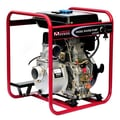 Amico 132.08 GPM Diesel Semi Trash Water Pump with Electric/Recoil Start