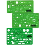 RAPID Electrical and Electronic Template (Set of 3)