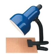 Lite Source Clip-On 12'' H Table Lamp; Blue