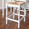 Carolina Cottage Hawthorne 30'' Bar Stool; Antique White