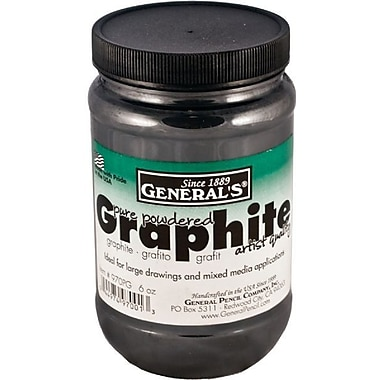 General 6 Oz Powered Graphite Jar