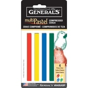 General MultiPastel Compressed Stick (Set of 4)