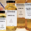 Williamsburg Linseed Oil; 16 Oz