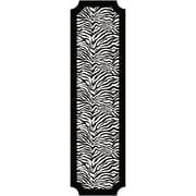 RoomMates 16.95 x 60 Vinyl Print Peel and Stick Deco Panel Black/White
