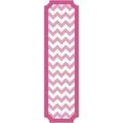 RoomMates 60H x 16.95W Vinyl Wall Decor  Pink and White