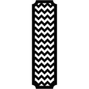 RoomMates 60H x 16.95W Vinyl Wall Decor  Black and White
