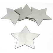 RoomMates 5.5 x 5.5 Star Peel and Stick Mirror Wall Decor