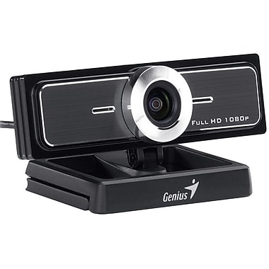 Genius Ultra Wide Angle PC Conference Widecam F100 Full HD Webcam
