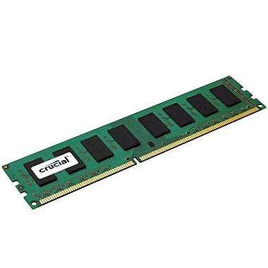Crucial 4GB Desktop Memory, 240-PIN DIMM, DDR3 PC3-12800