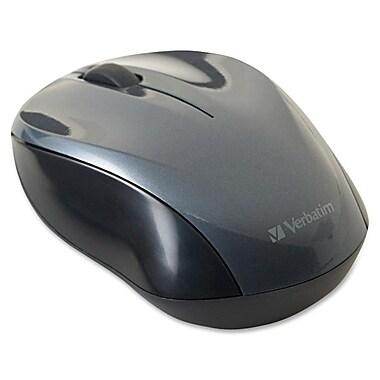 Verbatim® - Souris optique sans fil nano pour ordinateur portatif, graphite
