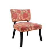 Powell Furniture Polyester Side Chair, Pink (383-623)