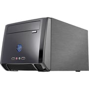 Athenatech A1089 Mini ITX Tower Computer Case With 150 W Power Supply, Black