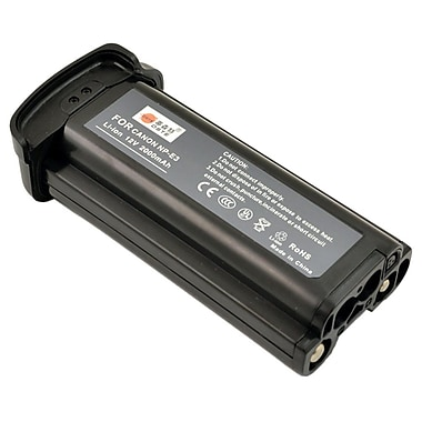 Canon® 7084A002 NP-E3 Nickel Metal Hydride Digital Camera Battery, 1650 mAh