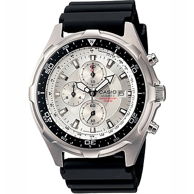 Casio® AMW330-7AV Men's Analog Marine Gear Diver's Sports Wrist Watch W/Resin Strap, Black